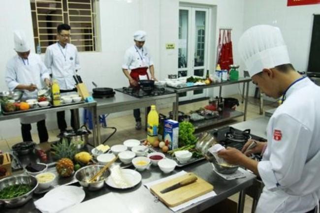 trường trung cấp nấu ăn
